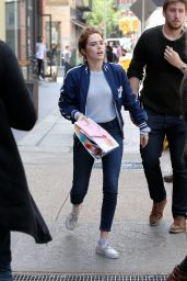 "Zoey Deutch - ""Set It Up""Movie Set in Soho in New York City 05/16/2017"
