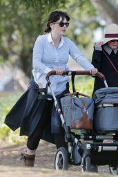 Zooey Deschanel - Out for a Walk in LA 05/09/2017