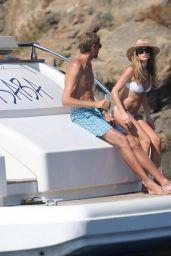 Abbey Clancy in Bikini - Holiday in Mallorca, Spain 06/23/2017