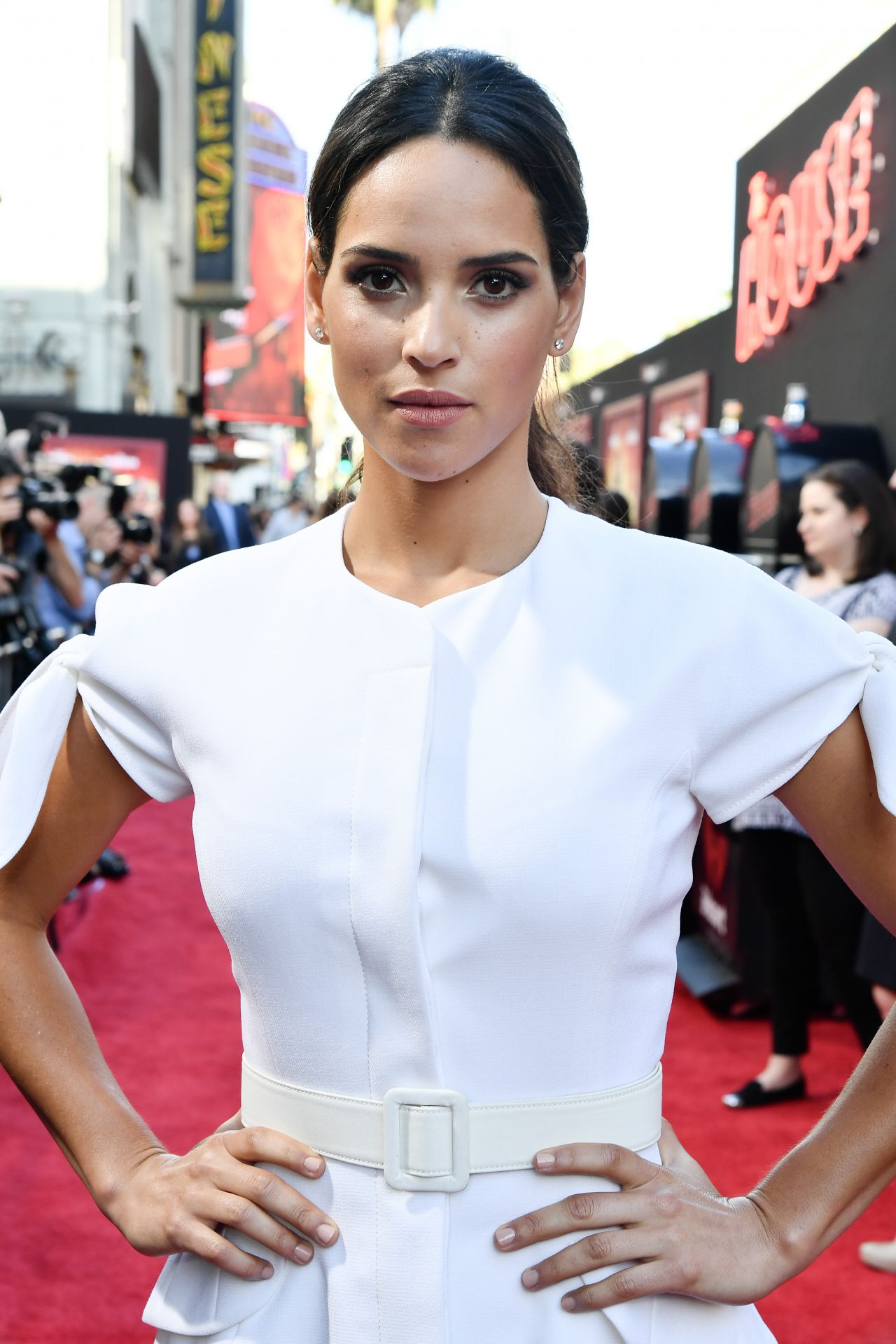 Adria Arjona Quot The House Quot Premiere In Hollywood 06 26 2017
