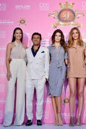 Adriana Lima, Ana Beatriz Barros, Izabel Goulart, Isabeli Fontana - Dossi Dossi Fashion Show Press Room in Antalya, Turkey 06/09/2017