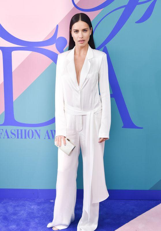 Adriana Lima – CFDA Fashion Awards in New York 06/05/2017