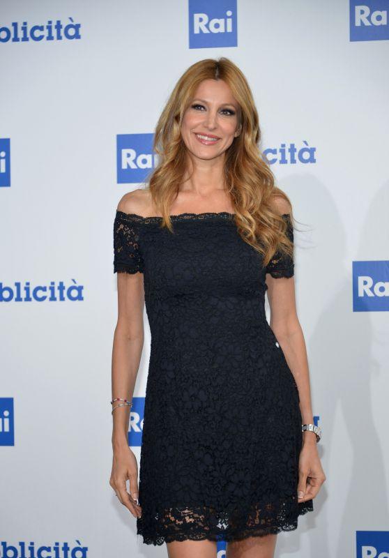 Adriana Volpe – RAI Italian National Television Network Programs in Milan 06/28/2017