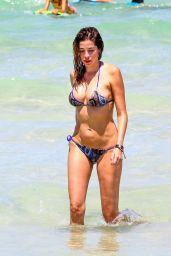 Aida Yespica in Bikini on the Miami Beach 06/25/2017