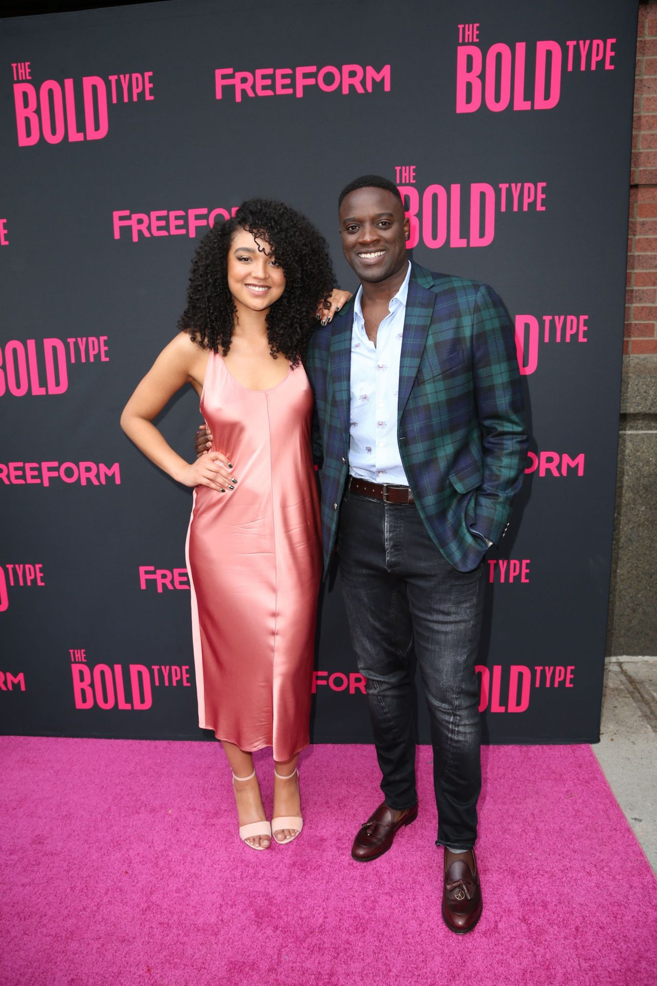 aisha dee the bold type tv show premiere in nyc 06 22 2017. Black Bedroom Furniture Sets. Home Design Ideas