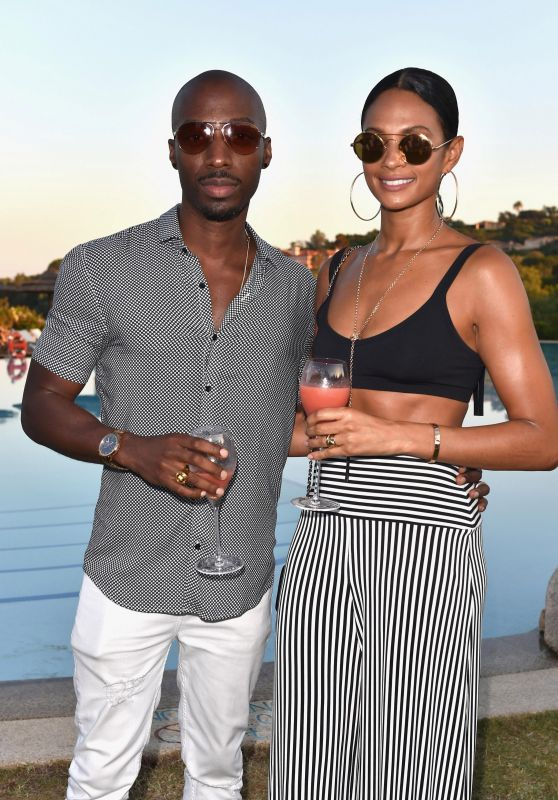 Alesha Dixon - The Costa Smeralda Invitational Dinner in Olbia, Italy 06/16/2017