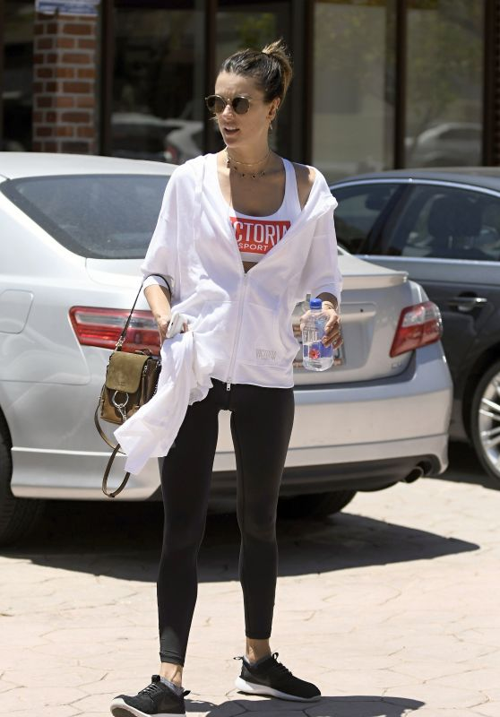 Alessandra Ambrosio - Out in Los Angeles 06/12/2017