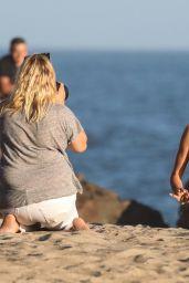 Alessandra Ambrosio - Photoshoot in Malibu, CA 06/19/2017