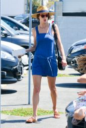 Alessandra Ambrosio Summer Outfit Ideas - Out for Breakfast in Santa Monica 06/17/2017