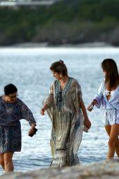 Alessandra Ambrosio - Takes a Beach Stroll in Florianópolis in Brazil 06/23/2017