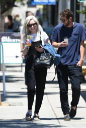 Alessandra Torresani - Out With Her Boyfriend in Los Angeles 06/17/2017