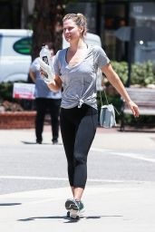 Ali Larter - Leaving a Gym in Santa Monica 06/13/2017
