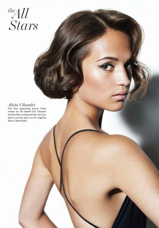 Alicia Vikander - Maxim Magazine USA June/July 2017