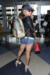 Ally Brooke at the LAX Airport in Los Angeles 06/08/2017