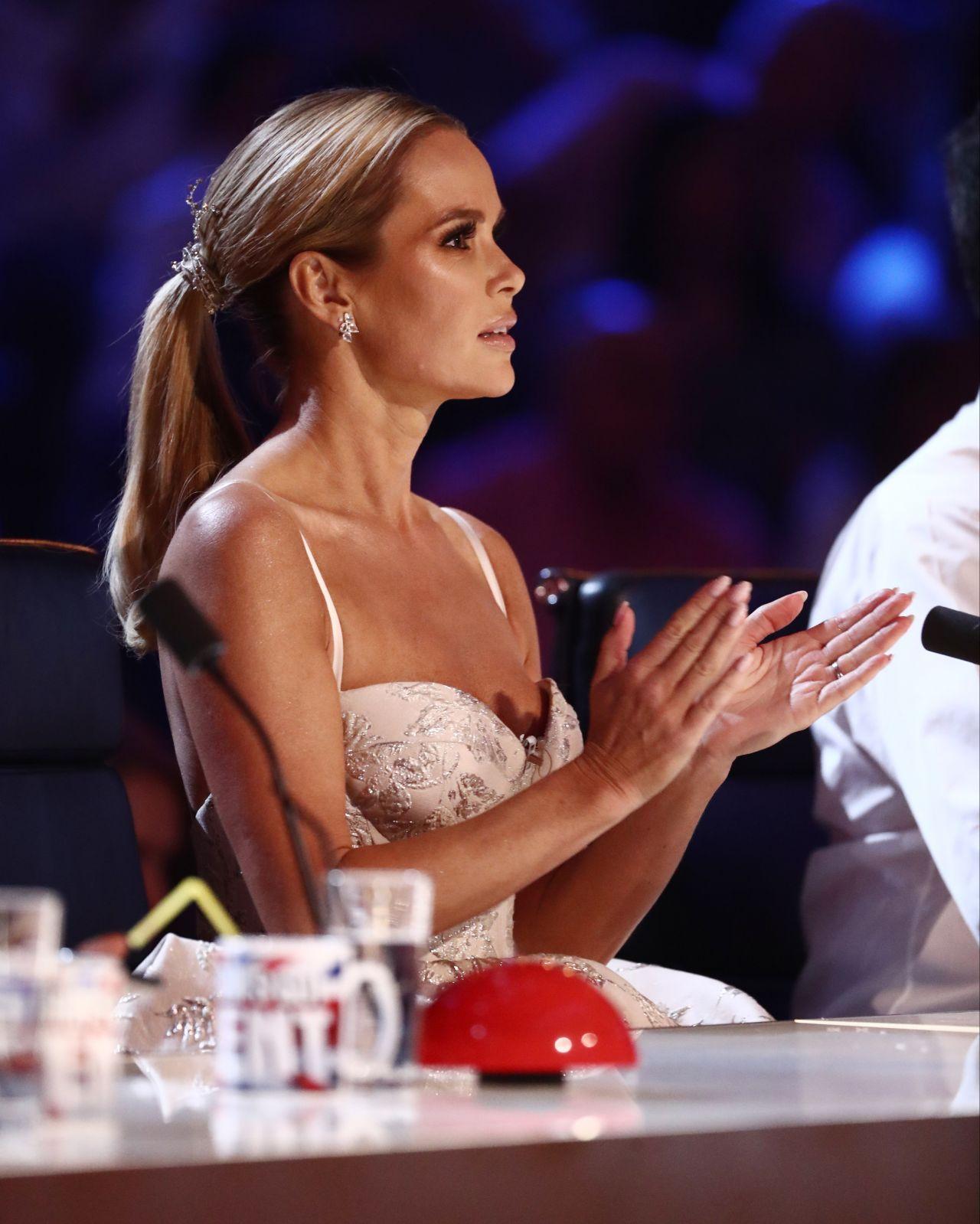 Amanda Holden Britain S Got Talent 06 03 2017