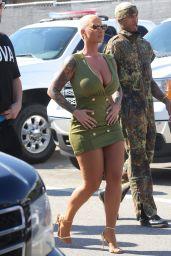 Amber Rose - Arrives for BET Awards in LA 06/25/2017