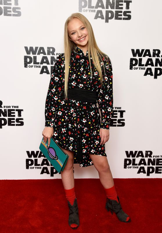 "Amiah Miller - ""War For The Planet Of The Apes"" Screening at The Ham Yard Hotel in London 06/19/2017"