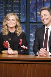 Amy Poehler - Late Night With Seth Meyers in NYC 06/21/2017