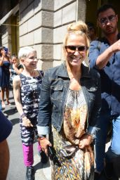 Anastacia - Out for Shopping in Milan 06/17/2017