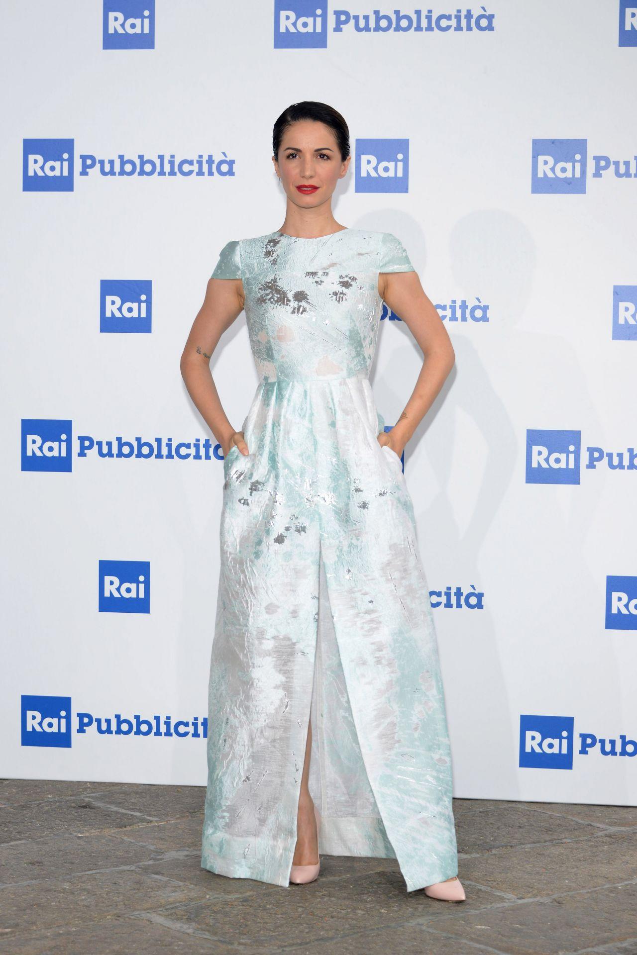Andrea Delogu – RAI Italian National Television Network ...
