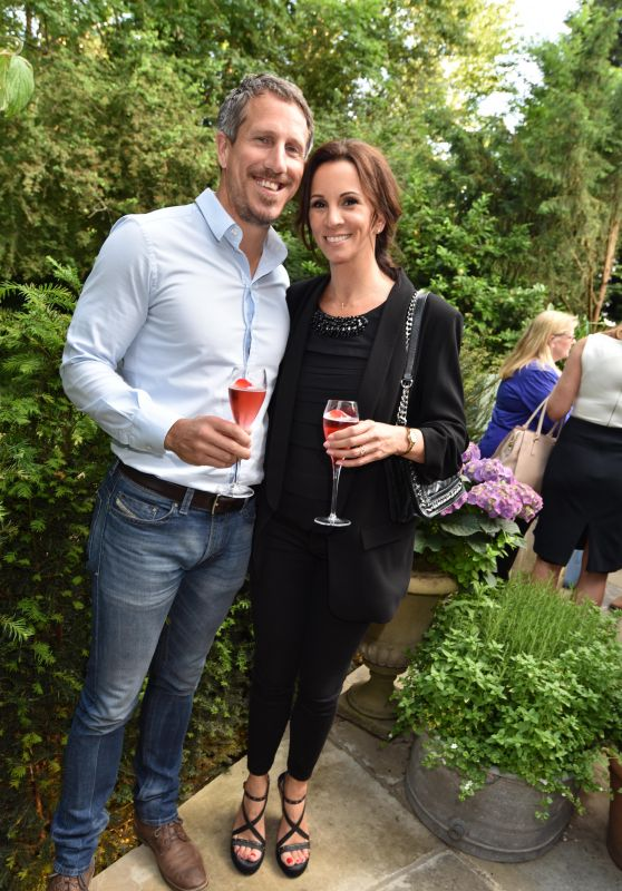 Andrea McLean – The Ivy Cobham Brasserie Opening in Surrey, UK 05/31/2017