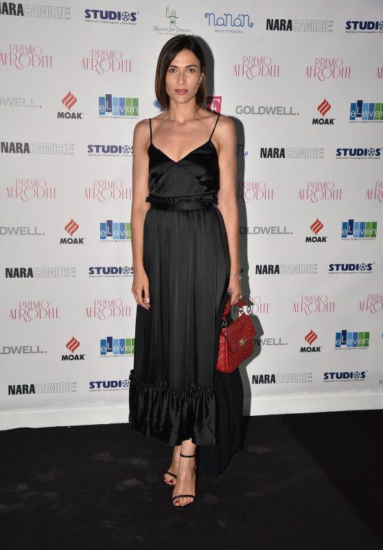 Anna Foglietta – Aphrodite Awards in Rome, Italy 06/21/2017