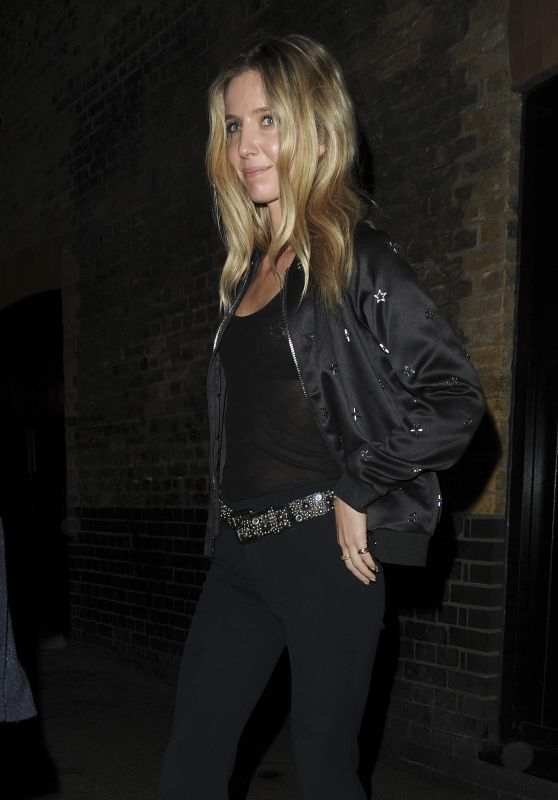 Annabelle Wallis at The Chiltern Firehouse in London 06/03/2017
