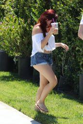 Ariel Winter in Short Shorts - Beverly Hills, CA 06/21/2017