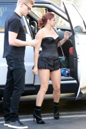 Ariel Winter - Shows Off Her New Tattoo - Out in LA June 06/15/2017