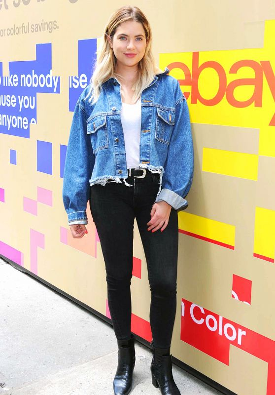 "Ashley Benson - Celebrating eBay`s New Brand Platform ""Fill Your Cart With"" in NYC , June 2017"