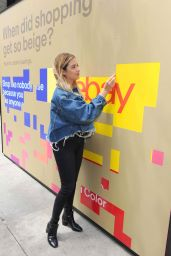 """Ashley Benson - Celebrating eBay`s New Brand Platform """"Fill Your Cart With"""" in NYC , June 2017"""
