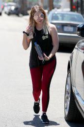 Ashley Benson in Tights - LA 06/27/2017
