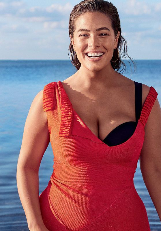 Ashley Graham - Glamour Magazine July 2017 Cover and Pics