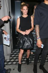 Ashley Greene and Paul Khoury Leaving Craig