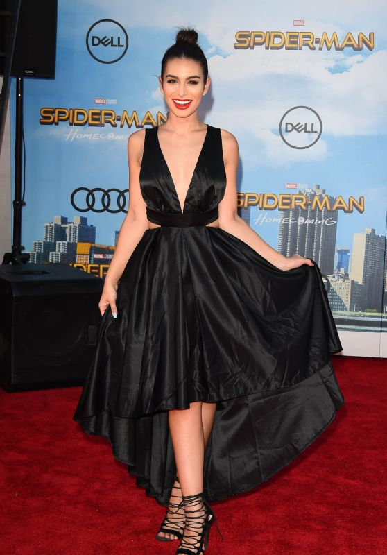 """Ashley Iaconetti – """"Spider-Man: Homecoming"""" Premiere in Hollywood 06/28/2017"""