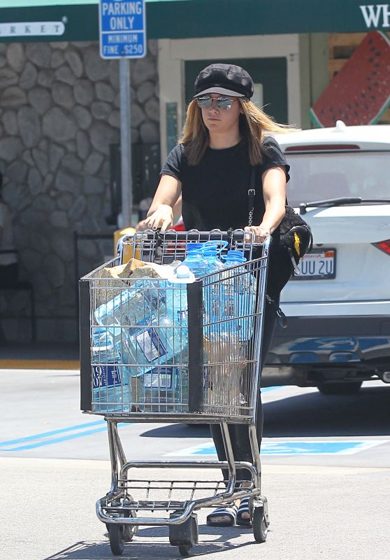 Ashley Tisdale - Shopping at Whole Foods in LA 06/18/2017