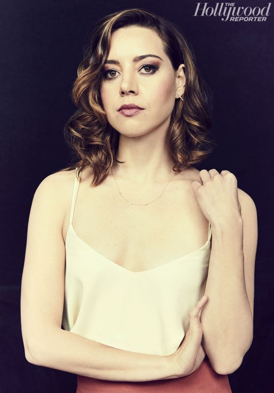 Aubrey Plaza - THR Supporting Actor Emmy Contenders Photoshoot 06/01/2017