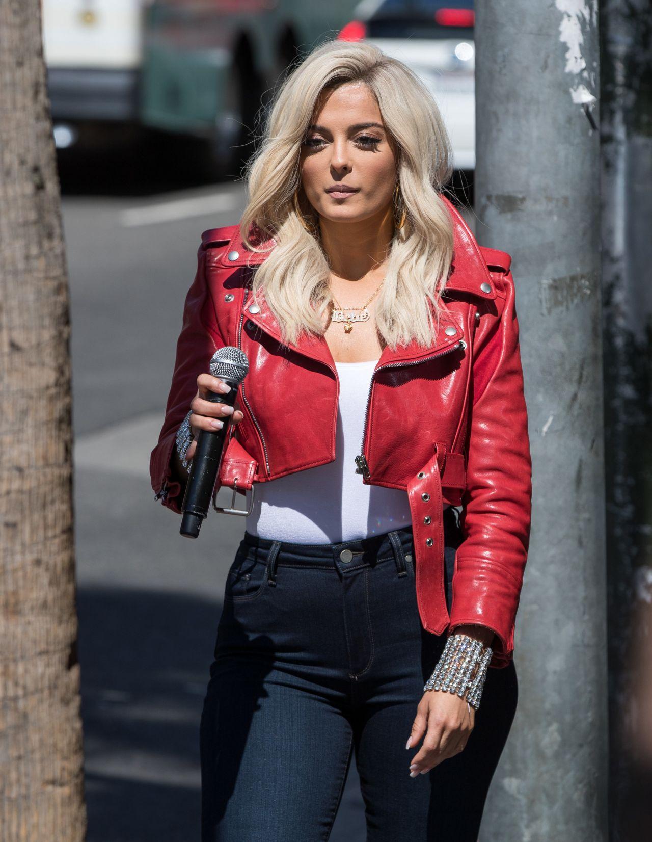 Bebe Rexha Arriving Appear Jimmy Kimmel Live La 06092017 795333