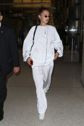 Bella Hadid at LAX Airport 06/21/2017