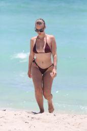 Bianca Elouise in Bikini - Shows Off Her Curves in Miami, FL 06/26/2017