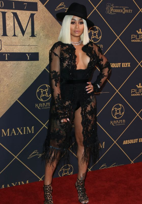 Blac Chyna – Maxim Hot 100 Party in Los Angeles 06/24/2017