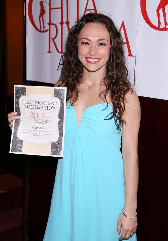 Brittany Conigatti – Chita Rivera Awards Nominees Reception in NY 06/01/2017