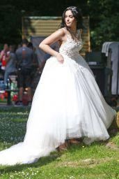 "Camila Mendes - ""Riverdale"" Set at Barnet Marine Park in Vancouver 06/26/2017"