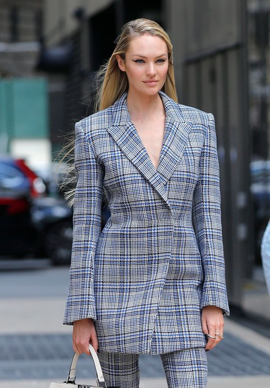 Candice Swanepoel - Photoshoot for Vogue in Downtown New York City 06/03/2017
