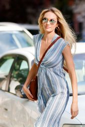 Candice Swanepoel Street Fashion - Out in New York 06/25/2017