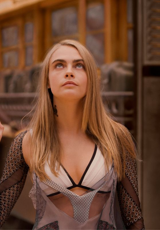 "Cara Delevingne - ""Valerian and the City of a Thousand Planets"" Photos 06/12/2017"
