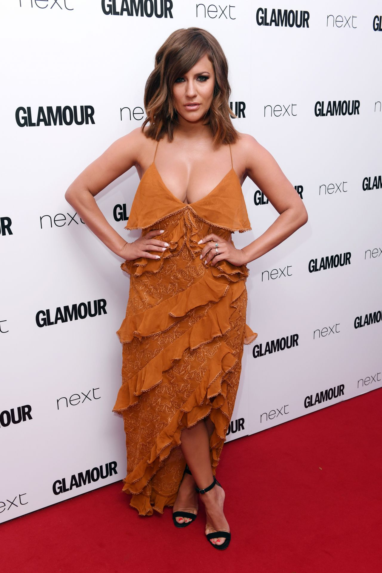 Caroline Flack Glamour Women Of The Year Awards In