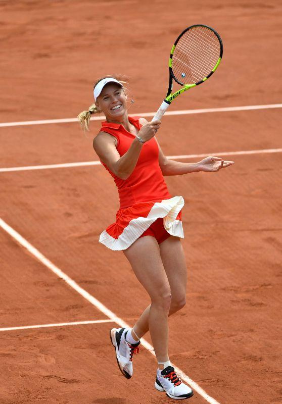 Caroline Wozniacki – French Open Tennis Tournament in Roland Garros, Paris 06/04/2017