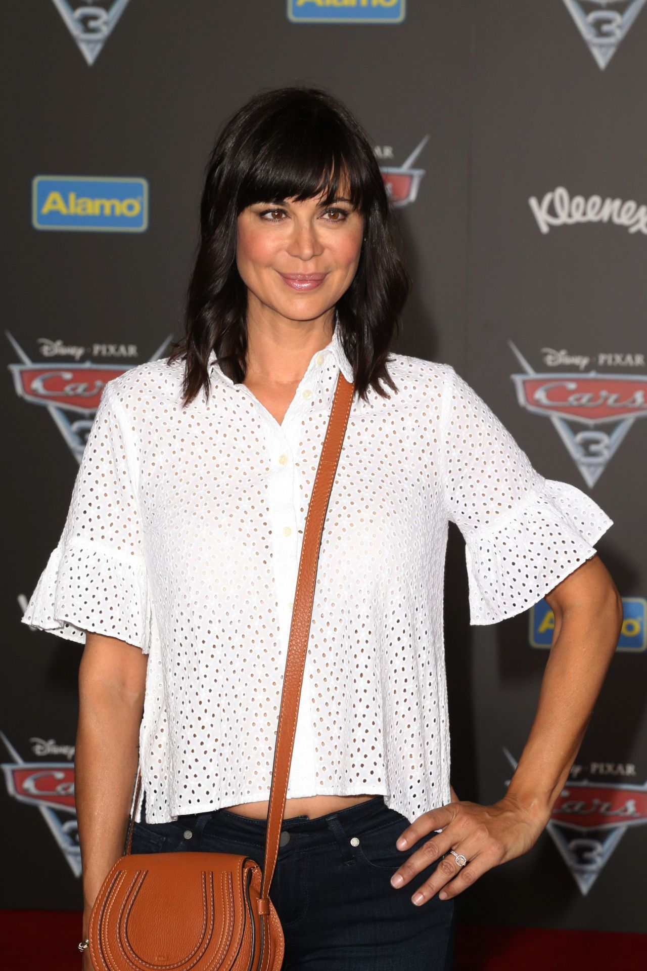 Catherine Bell Cars 3 Premiere In Anaheim Ca 06 10 2017