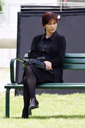 "Catherine Zeta Jones - ""Cocaine Godmother"" Filming in Vancouver, Canada 06/27/2017"